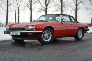1985 JAGUAR XJS HE AUTO RED Private Plate A12XJC included 12Months MOT
