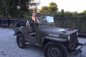 WILLYS JEEP UNBELIEVABLE COPY! FORD PINTO MOTOR 2 WHEEL DRIVE £9500 OFFERS PX for Sale
