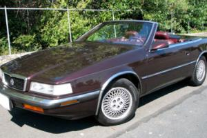 1989 Chrysler TC by Maserati Photo