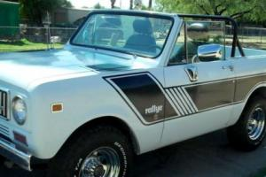 1973 International Harvester Scout