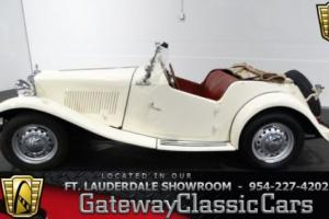 1953 MG T-Series Photo