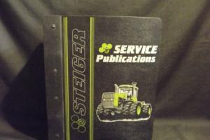 STEIGER Service Manual, 1000 Powershift Series Puma, WC, BC, Cougar Panther Lion Photo