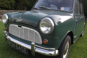 AUSTIN MINI 1967 Almond green with White roof New MOT