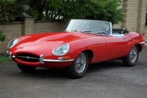 JAGUAR E TYPE 4.2 SERIES ONE ROADSTER 1966 LHD Photo
