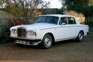 1978 Rolls Royce Silver Shadow II. Royal Owned. Factory White. Photo