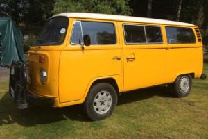 1978 VW KOMBI CAMPERVAN T2 BAY WINDOW TRANSPORTER