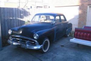 1952 Plymouth Cranbrook LHD Import Prev VIC Registered ROD Dodge Sled Project in VIC