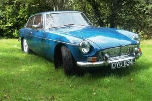 MG B GT COUPE (1972) Photo