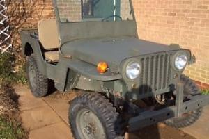 1947 WILLYS JEEP CJ2A RECENT IMPORT from CANADA many extras included UK register Photo
