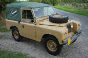 "1966 Land Rover Series IIA 88"" 2.25P - Ex-Military, fully refurbished"