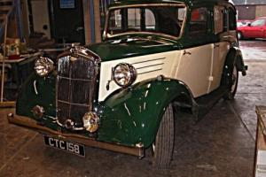 1938 Wolseley 12/48 Series III, Chassis-up Restoration. Photo