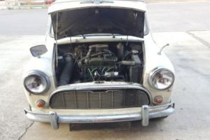 1965 Morris 850 Deluxe MK1 Classic Project Restoration Garage find