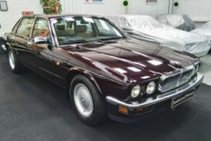 1993 Jaguar XJ40 XJ6 in immaculate condition just 48'000 mls Morocco Red