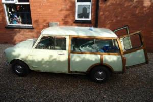 AUSTIN MINI COUNTRYMAN MK1 1965 SMOOTH ROOF MODEL + PARTS for Sale