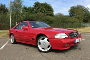 1994 MERCEDES SL320 AUTO RED 79k