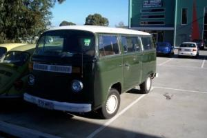 VW Volkswagen Kombi VAN 1977 Manual EX Army 2 0LT Motor Seating Capacity 8 in VIC