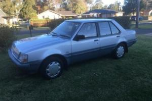 Mitsubishi Colt 1988 FWD 4 Door Auto Sedan LOW KM'S ONE Owner From NEW