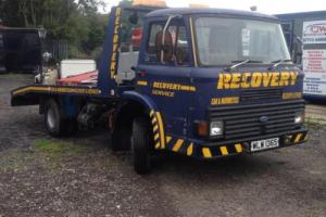 Ford D170 D Series Recovery 1977 S Reg