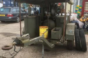 EX MOD TRAILER MOUNTED MOBILE LUBRICATING SERVICING UNIT ELECTRIC START DIESEL