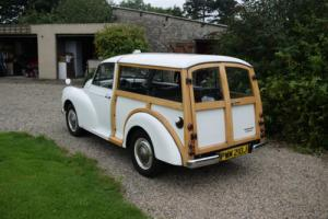 1971 MORRIS MINOR TRAVELLER - ONE OF LAST BUILT, LOVELY WITH SUPER WOOD