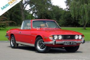 TRIUMPH STAG 3.0, Red, Auto, Petrol, 1975 Photo