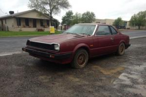 Honda Prelude 1980 4CYL MAN Suit Resto OR Parts in NSW
