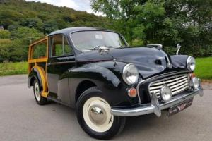 MORRIS MINOR 1000 Traveller, Full new wood, looks and drives A1