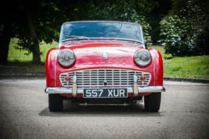 1957 Triumph TR3 - Manual Photo