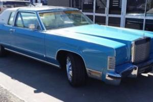 Ford Lincoln Town Coupe 79