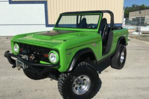 1970 Ford Bronco BRONCO 4X4 4WD OFF ROAD SHOW TRUCK