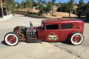 1929 Ford Sedan Rat Rod Model A Rat Rod