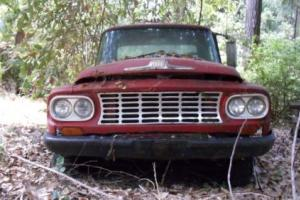 1962 international harvester allwheel-drive pickup