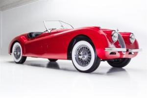 1954 Jaguar XK Radiant Red, Extensive Resto Photo