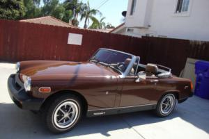 1979 MG Midget CONVERTIBLE Photo