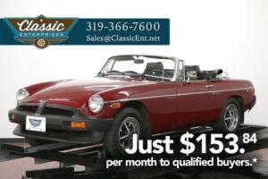 1979 MG MGB classic collector convertible sports car solid Photo