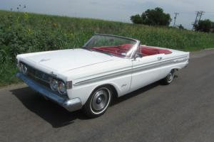 1964 Mercury Comet CALIENTE CONVERTIBLE   mustang like ford product