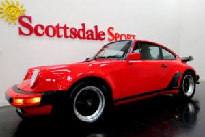 1988 Porsche 911 GUARDS RED on BLACK LTHR w 29K MILES... MUSEUM QUA