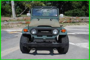 1972 Toyota Land Cruiser FJ40 FJ40L Soft Top Land Cruiser