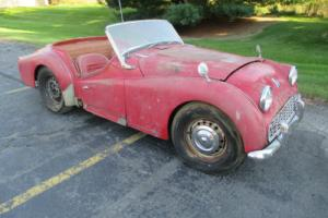 1963 Triumph TR3 Photo