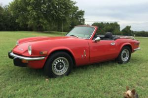 1971 Triumph Spitfire Mark IV Photo