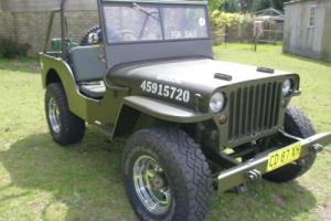 Jeep Willys CJ3B 1958 in NSW