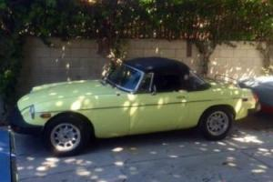 MG/ MGF ROADSTER 1976 LEFT HAND DRIVE