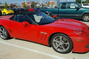 2011 Chevrolet Corvette Convertible 3LT Z51 Grand Sport