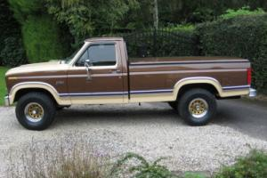 1983 FORD F150, 4.9 LTR, 4X4, BEAUTIFUL EXAMPLE, 1 OWNER.