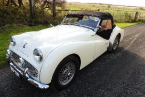 1962 TRIUMPH TR3B SPORTS CAR. r.h.drive.