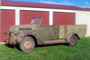 1940 Ford Pickup Ratrod Custom Hotrod Project Australian Army Wwii in VIC
