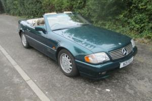 Mercedes sl 320 auto convertible soft / hard top 1995