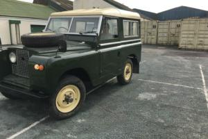 "LAND ROVER 88"" EARLY SERIES 2A 2.25 PETROL 4 OWNERS FROM NEW"