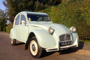 Citroen 2CV AZAM Commerciale. 1962. Very rare!