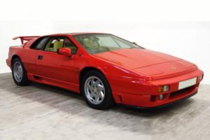 1993 LOTUS ESPRIT TURBO SE RED HIGH WING
